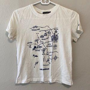 Brandy Melville Los Angeles California Tee Shirt